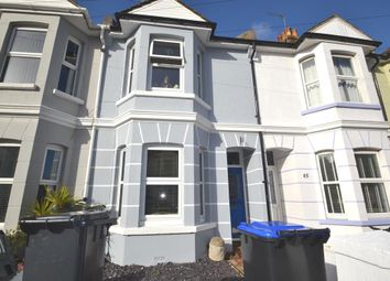 Thumbnail 2 bed terraced house to rent in Becket Road, Worthing, West Sussex