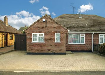 Thumbnail 3 bed semi-detached bungalow for sale in Willow Road, Blaby, Leicester