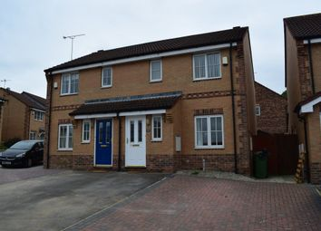 Thumbnail 3 bed semi-detached house to rent in Greenacres Court, Castleford