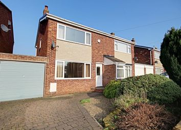 Thumbnail 3 bed semi-detached house for sale in Rutland Avenue, North Anston, Sheffield