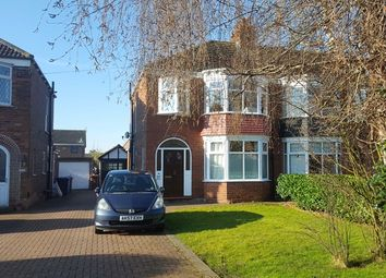 Thumbnail 3 bed semi-detached house for sale in Tweendykes Road, Sutton-On-Hull, Hull