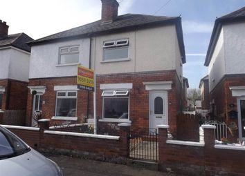 Thumbnail 2 bed semi-detached house for sale in Dunraven Crescent, Belfast
