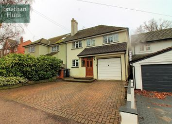 Thumbnail 4 bed semi-detached house for sale in The Causeway, Buntingford