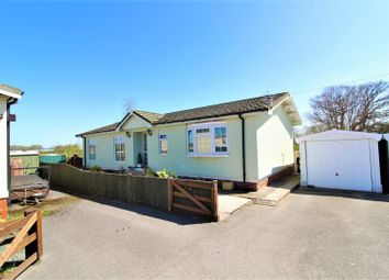 Thumbnail 2 bed mobile/park home for sale in Willow Park, Mancot