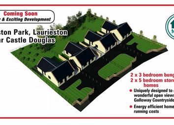 Thumbnail 3 bed detached bungalow for sale in Laurieston Park Development, Laurieston, Castle Douglas