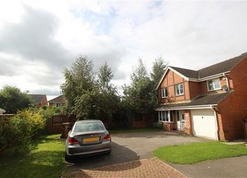 Thumbnail 4 bed detached house for sale in Romwood Close, Kinsley, Pontefract