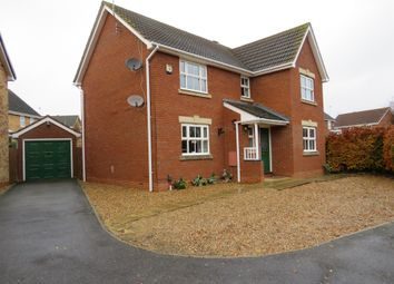 Thumbnail 4 bed detached house for sale in Cornfield Way, Burton Latimer, Kettering