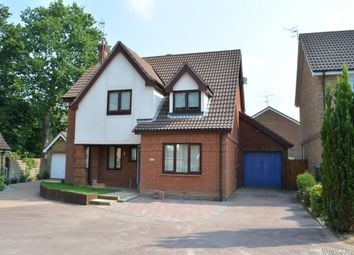 Thumbnail 4 bedroom detached house for sale in Taunton Close, Worth