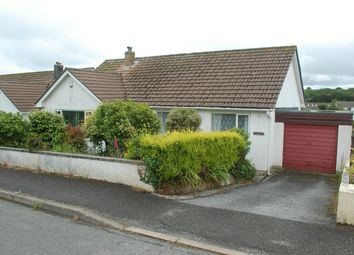 Thumbnail 3 bed detached bungalow for sale in Springfield Close, Polgooth, St Austell, Cornwall