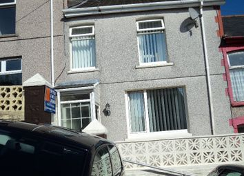 Thumbnail 3 bed terraced house for sale in Coronation Street, Ogmore Vale, Bridgend.