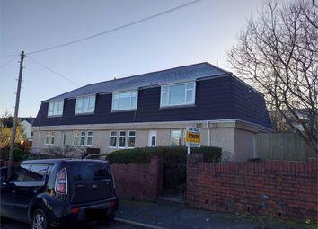 Thumbnail 2 bed flat for sale in Islwyn Close, Ebbw Vale, Blaenau Gwent