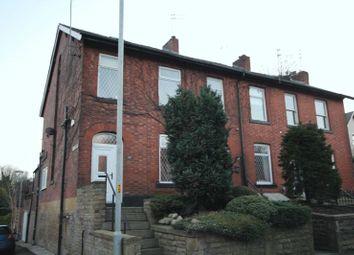 Thumbnail 4 bedroom end terrace house for sale in Bury Road, Oakenrod, Rochdale