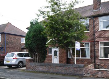 Thumbnail 4 bed semi-detached house to rent in Springfield Avenue, Warrington