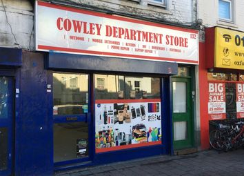 Retail premises to let in Cowley Road, Oxford OX4