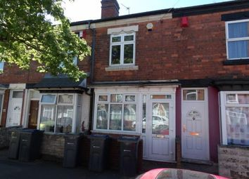 Thumbnail 3 bed terraced house for sale in Preston Road, Hockley, Birmingham, West Midlands