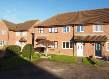 Thumbnail 2 bed terraced house for sale in Marwood Close, Wymondham, Norfolk