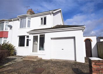 Thumbnail 3 bed semi-detached house for sale in Rowcroft Road, Paignton, Devon