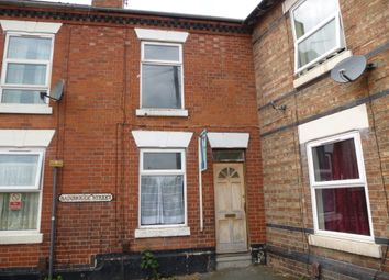 Thumbnail 2 bedroom end terrace house for sale in Bainbrigge Street, Derby