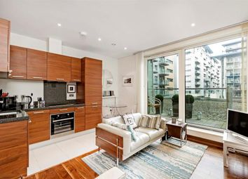 Thumbnail 1 bed flat to rent in Hawker Building, Chelsea Bridge Wharf, London.