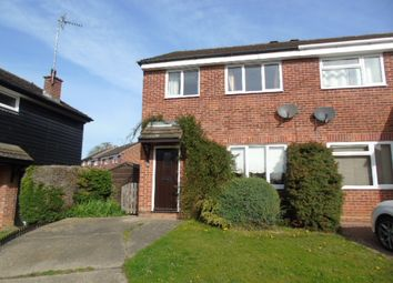Thumbnail 3 bedroom semi-detached house to rent in Ludbrook Close, Needham Market