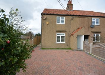 Thumbnail 3 bed semi-detached house for sale in The Street, Carlton Coville, Lowestoft
