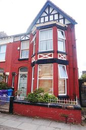 Thumbnail 3 bedroom end terrace house for sale in Avondale Road, Wavertree, Liverpool