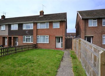 Thumbnail 3 bed end terrace house for sale in Keats Crescent, Swindon