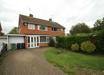 Thumbnail 4 bed semi-detached house for sale in Springbrook Drive, Scraptoft, Leicester