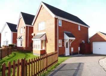 Thumbnail 3 bedroom detached house to rent in Angel Drive, North Walsham
