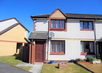 Thumbnail 2 bedroom end terrace house for sale in Wren Place, Wishaw