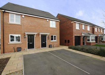 Thumbnail 2 bed semi-detached house for sale in Hardwicke Close, York