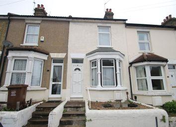 Thumbnail 3 bed terraced house for sale in Bingham Road, Frindsbury, Kent