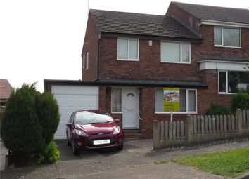 Thumbnail 3 bed semi-detached house for sale in Rudchester Close, Carlisle, Cumbria