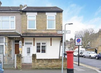 Thumbnail 3 bedroom terraced house for sale in Selby Road, London