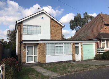 Thumbnail 3 bed detached house to rent in Saintbury Road, Glenfield, Leicester