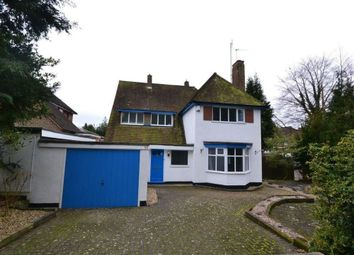 Thumbnail 4 bed detached house to rent in Shirley Road, Stoneygate, Leicester