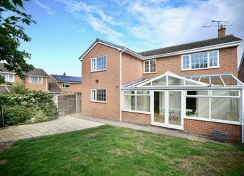 Thumbnail 5 bed detached house for sale in Orchard Close, Hail Weston, St. Neots, Cambridgeshire