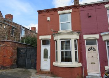 Thumbnail 2 bed end terrace house for sale in Longford Street, Liverpool