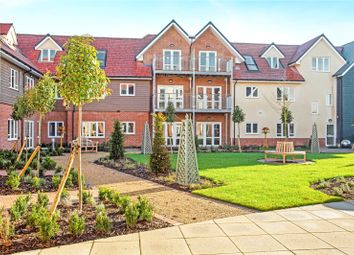 Thumbnail 2 bed flat for sale in Keble Court, Redfields Lane, Church Crookham, Fleet