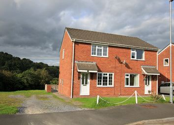 Thumbnail 2 bed semi-detached house to rent in Llwynmeredydd, Carmarthen, Carmarthenshire