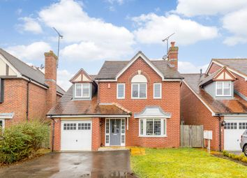 Thumbnail 4 bed detached house for sale in Eaves Close, Addlestone, Surrey