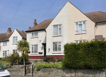 Thumbnail 3 bed semi-detached house for sale in Wood Avenue, Folkestone