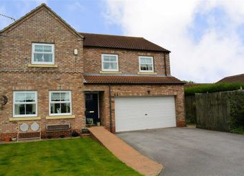 Thumbnail 5 bed detached house for sale in The Poplars, Hull Road, Hemingbrough