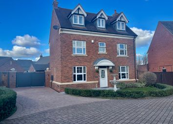Thumbnail 5 bed detached house for sale in Allendale Road, Leicestershire, Loughborough