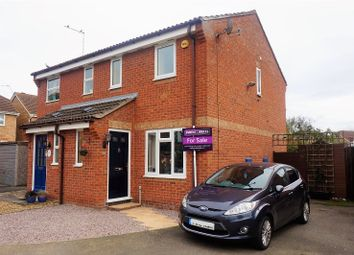 Thumbnail 2 bed semi-detached house for sale in Waverley Close, Morton, Nr Bourne