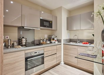 Thumbnail 2 bed flat for sale in Lexicon Terrace At East City Point, Charford Road, London