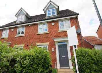 Thumbnail 4 bed semi-detached house to rent in Parkway, Chellaston, Derby