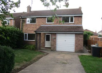 Thumbnail 4 bed detached house to rent in Windmill Drive, Heckington, Sleaford
