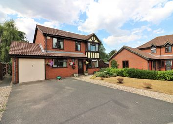 Thumbnail 4 bed detached house for sale in Allwood Avenue, Scarning