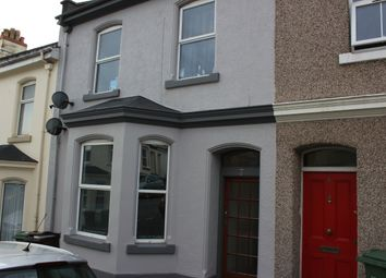Thumbnail 3 bed flat to rent in Wake Street, Plymouth